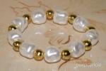 Pulsera perlas barrocas
